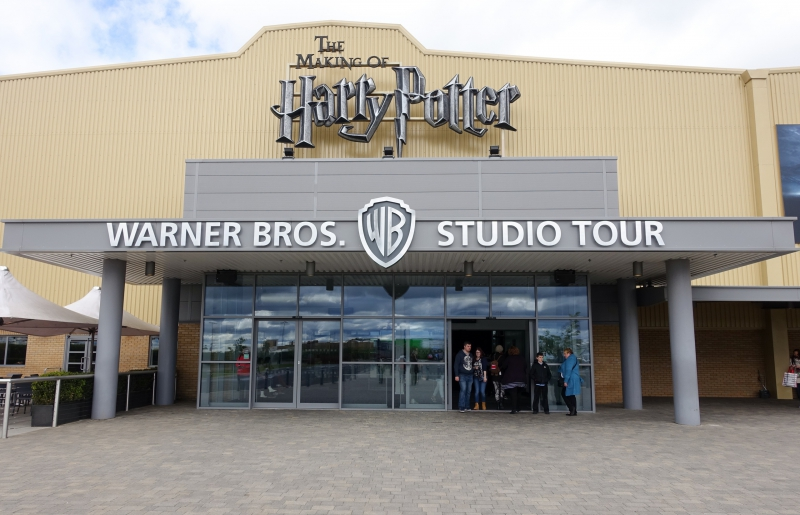 Harry Potter Studio Tour entrance