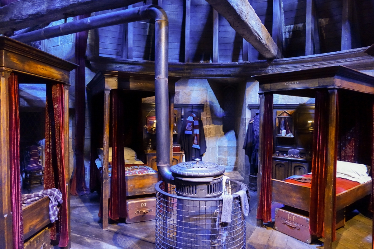 harry potter studio tour the making of a magical world the weasleys kitchen