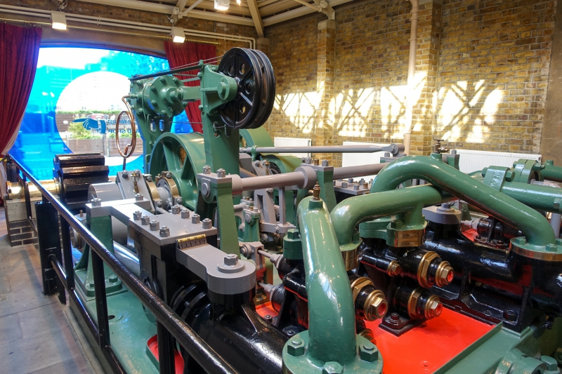 Tower Bridge engine room