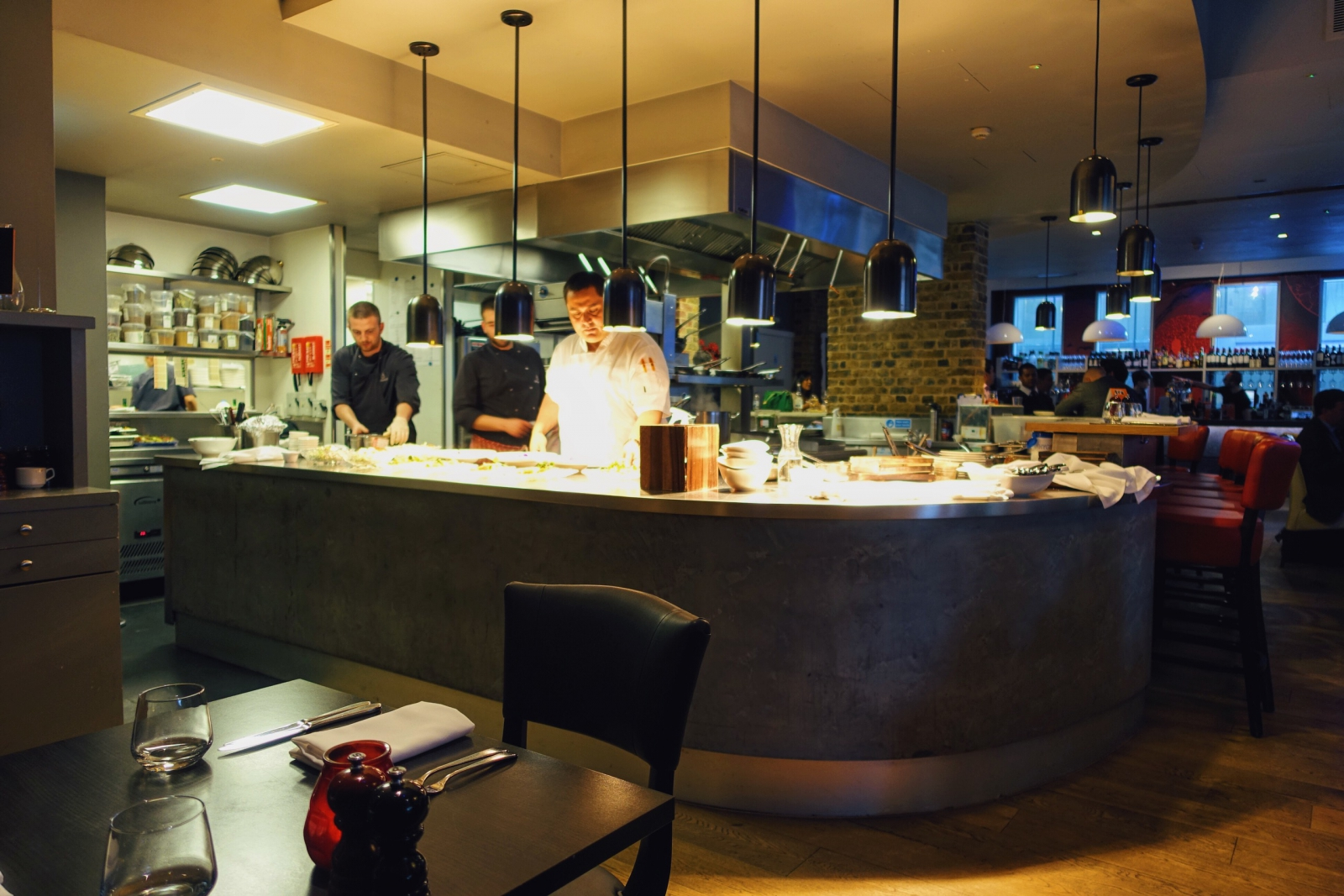 Brigade Bar and Bistro in London