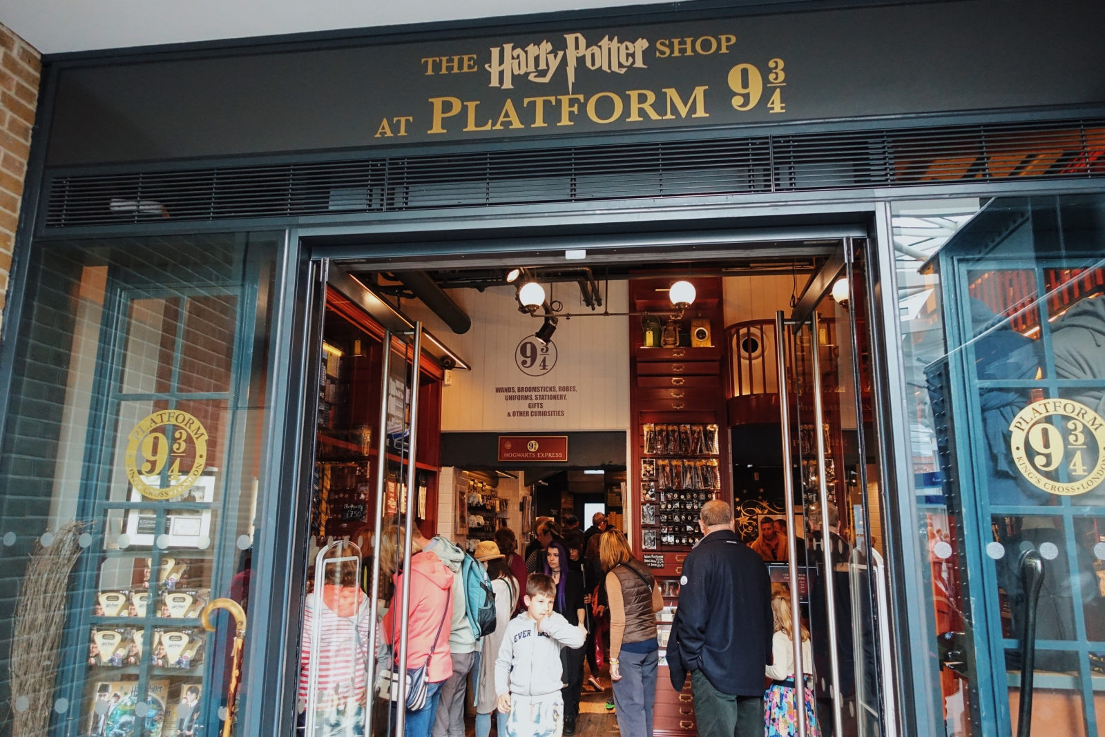 The Harry Potter Shop at Platform 9¾