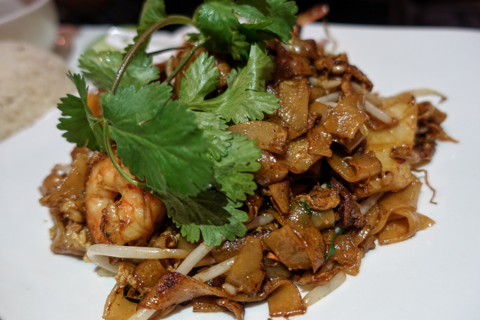 Char kuay teow at Rasa Sayang in London