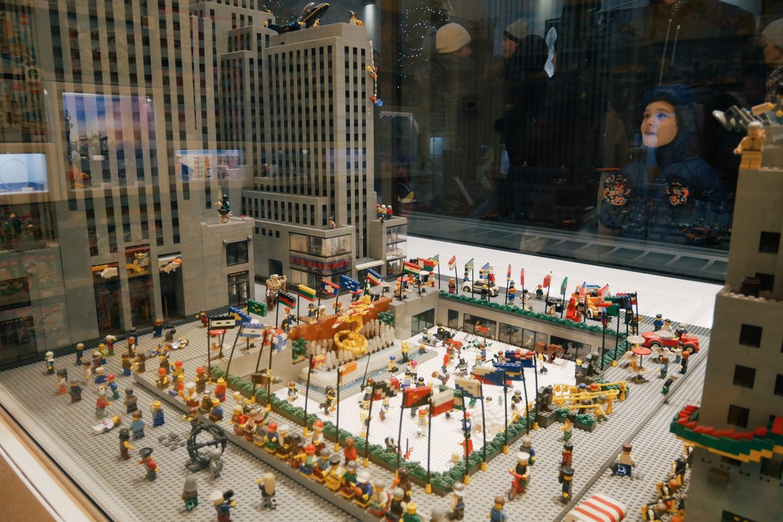 Rockefeller Center Lego store