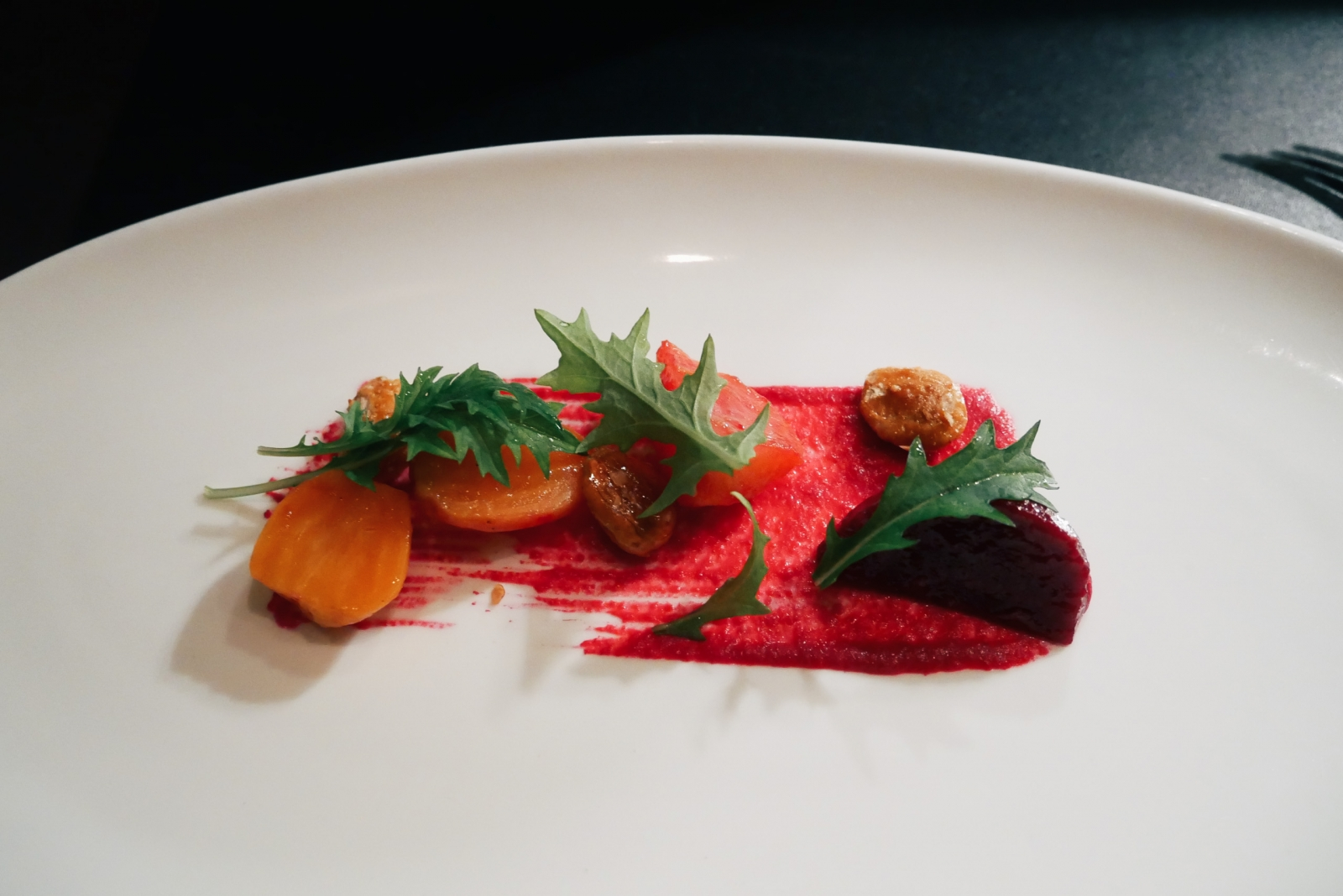 Degustation beet salad