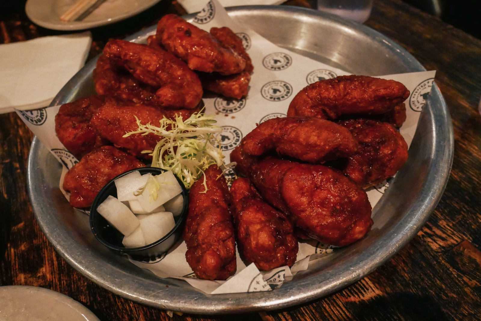 Korean fried chicken at Turntable Chicken Jazz